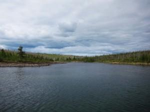 Исток реки Лабынкыр