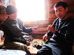 Якутские охотники на Лабынкыре, 2011 год
